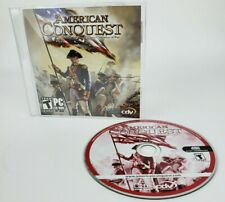 2005 American Conquest Three Centuries Of War PC Game CD-rom