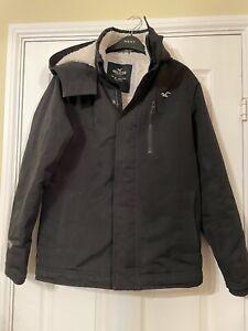 Hollister Black Small Jacket Warm Weather Wa