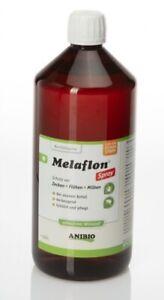 ANIBIO Melaflon Spray 1000ml Nachfüllflasche Zeckenschutz für Hunde