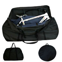 Folding Bicycle Frame Luggage Carrier Bag Box Case Bike Wheel Travel Transport C