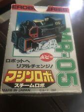 Go Bots Popy 1982 Micro Robo Series Mr-05 Steam Mib