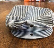 WEATHERPROOF White Black Stripped Golf Driving Hat Size XL