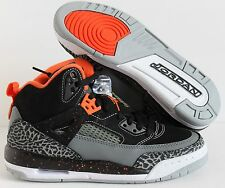 NIKE AIR JORDAN SPIZIKE BG BLACK-ORANGE SZ 5Y-WOMENS SZ 6.5 [317321-080]