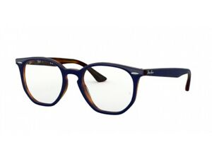 Frames Eyeglasses Ray-Ban Authentic RX7151 Blue 5910