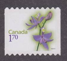 Canada 2010 Flower Definitive #2364i - Die cut from booklet - unused