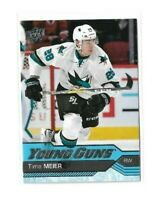 2016-17 UPPER DECK #479 TIMO MEIER YG RC UD YOUNG GUNS ROOKIE SHARKS