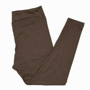 LuLaRoe TC Leggings Solid Brown NEW