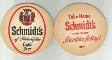 "Lot of 5 Schmidt's Beer-Philadelphia, PA 3 1/2"" 1960's #030 ""Take Home """