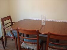 G Plan Extendable Dining Table with 6 chairs