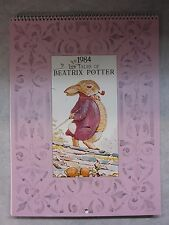 Tales of Beatrix Potter ~ 1984 Calander ~ Hoyle Products