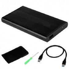 "Box Case Slim Esterno Hard Disk 2,5"" Sata Hd Hdd Usb 3.0 Cavo Adattatore hsb"