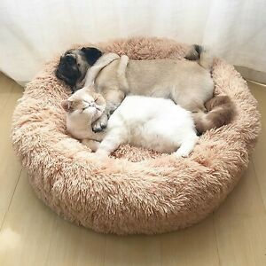 Dog Bed Plush Sofa Super Soft Mat Cat Beds For Large Dogs Bed Pet Round Cushion