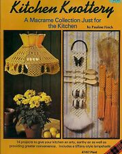 Craft Book: #7457 Kitchen Knottery - A Collection of Macrame Patterns
