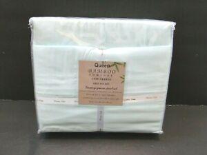 Queen Bamboo Comfort 1800 Series Deep Pocket Luxury Queen Sheet Set