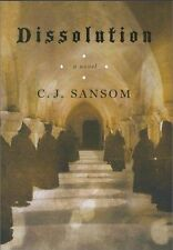 DISSOLUTION by C. J. Sansom, 1st Edition, **SIGNED**, HC, DJ, c.2003 MINT