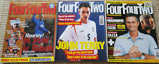LOT- 3 FOUR FOUR TWO Football magazines - Jan2003/May2005/Sep2005