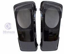 CVO Stytle Vivid Black 6 x 9 Saddlebag Speaker Lids for Harley Touring 1994-2013
