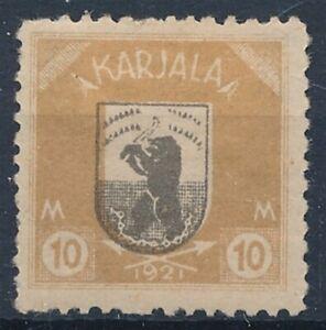 [51991] Carelia Finland 1922 good MH Very Fine stamp