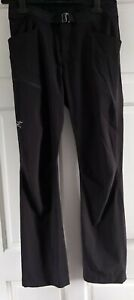 Mens Waist 30/L32 Arc'teryx Blk Traverse Sylvite Walking Pants*New Without Tags