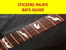 STICKERS INLAY BATS SILVER FRET MARKERS DECAL VISIT OUR STORE WITH MORE MODELS