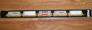 DELUXE INNOVATIONS 151101 N GUNDERSON TWINSTACK 5 UNIT CAR W/ CONTAINERS SP TTX
