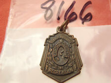 City of New Orleans Every Child a Swimmer Recreation Bronze Charm Pendant 3.6 Gr