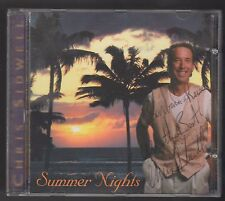 Chris Sidwell Summer Nights CD IS MINT AUTOGRAPHED BY CHRIS SIDWELL