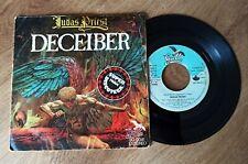 Judas Priest,Deceiber,Rare vinyl single Spain 1976,SG-0041