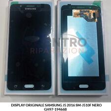 DISPLAY LCD TOUCH SCREEN ORIGINALE SAMSUNG GALAXY J5 2016 SM-J510F NERO BLACK