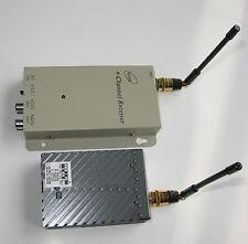 Super Power Hd 7W 7000mW Fpv Portable 4Ch 1.2G Wireless A/V Transmitter Receiver