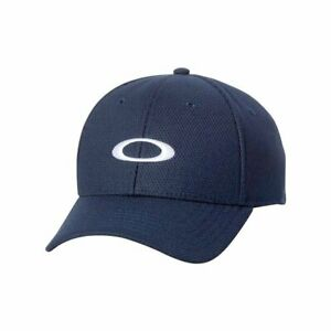 Oakley Men's Ellipse All Year Round Navy with white logos front/back UV treated