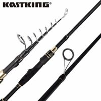 KastKing BlackHawk II Spinning Fishing Rod Telescopic Rod 6'6''-M