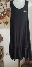 DKNY Black Sleeveless Modal/Elastane Dress Age 8 Years Mint Condition