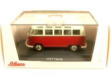Volkswagen VW T1 samba bus rojo / beige 1 43 Schuco