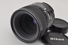 Nikon AF MICRO NIKKOR 60mm F2.8 Lens for F Mount #170511c