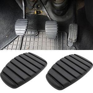 2Pcs Brake Clutch Pedal Pad Cover For Renault Trafic Laguna Megane Kangoo Scenic