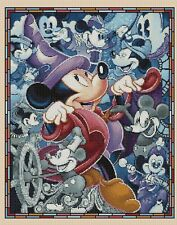 Disney  Cross stitch chart - mickey mouse through the ages Flowerpower37-uk...