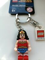 GENUINE LEGO DC SUPERHEROES WONDER WOMAN MINIFIGURE KEYRING KEYCHAIN