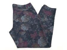 Modcloth Womens Skinny Jeans Size XL Blue Floral Print Jeans Pants NWOT