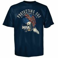 NRA Eagle Protecting Freedom  t-shirt Black S, M, L NWT Officially Licensed