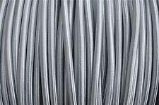 1 METRO Silver Silk 3 Core Di Luce Flex Cavo Lampada a sospensione made in UK b14