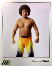 Official Pro Wrestling NOAH Muhammad Yone 2008 8x10