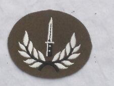 No. 2 Dress Abz.  Class  1  Infantry Soldier,Bayonet & Kranz, datiert 2011