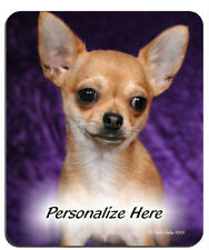 Chihuahua     tan  Personalized Mouse Pad