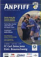3. Liga 2008/09 FC Carl Zeiss Jena - Eintracht Braunschweig, 07.04.2009