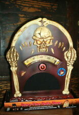 Halloween Tombstone SCARY SKULL animated radio BRAND NEW! GHOSTLY>