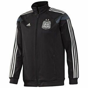 ADIDAS ARGENTINA ANTHEM JACKET FIFA WORLD CUP 2014 Black