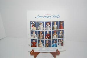 CLASSIC AMERICAN DOLLS - POSTAGE STAMPS/ COLLECTABLE SHEETS - NEW .32CENT/STAMPS