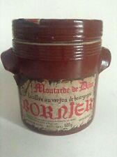 Ancien pot à moutarde de Dijon Bornier