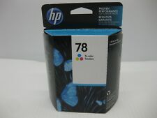HP 78 Tri-Color Ink Cartridge C6578DN New Genuine NICE BOX Date: December 2019